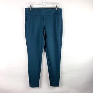 torrid Pants - Torrid Cropped Slim Fix Pixie Pant Teal Size 00